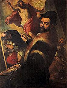 Agostino Caracci, autoportret