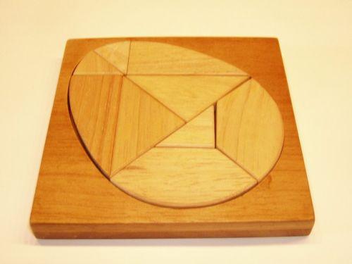 Jajko tangram
