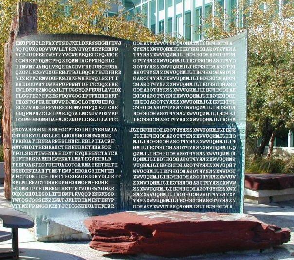 Kryptos - tekst