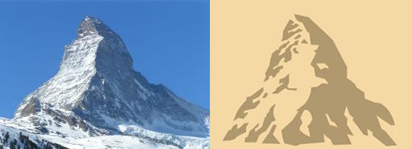 Toblerone Matterhorn