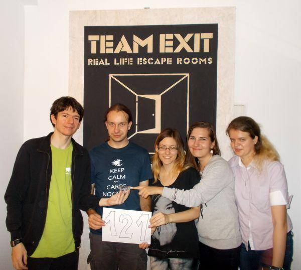 1 team exit